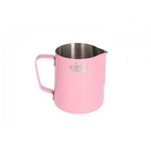Питчер Edo Barista розовый из нержавеющей стали - 350 мл