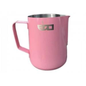 Питчер Edo Barista из нержавеющей стали розовый - 600 мл