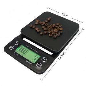 Цифровые кофейные весы Edo Barista с таймером, для барист