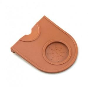 Угловой коврик для темперовки (коричневый)