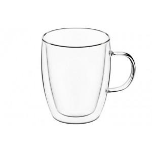 Высокие чашки с ручками с двойными стенками 270 мл, 2 шт.