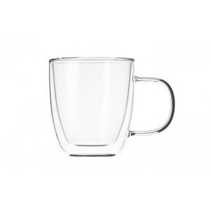 Чашки с ручками с двойными стенками 310 мл, 2 шт.