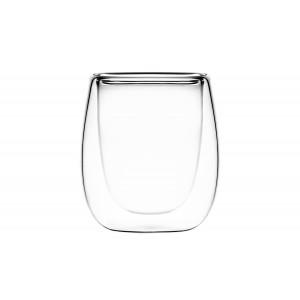 Чашки с двойными стенками для эспрессо 80 мл, 2 шт.