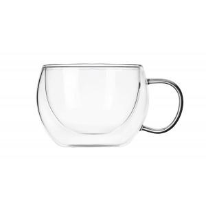 Чашки с двойными стенками для горячих напитков 300 мл, 2 шт.