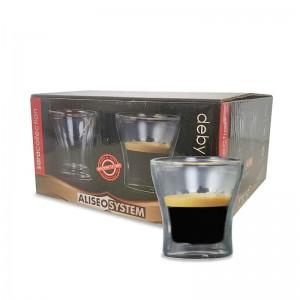 Маленькая кофейная чашка 4 шт. 80 мл.