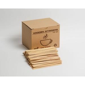 Мешалки деревянные (шлифованные) 140/6/1.5 мм. 1000 шт.