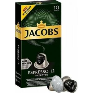Кофе в капсулах Jacobs Espresso 12 Ristretto, 10 капсул Nespresso
