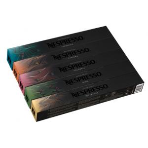 Набор кофе в капсулах Nespresso Master Origin - 50 капсул