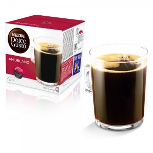 Капсулы Americano, 16 капсул Dolce Gusto