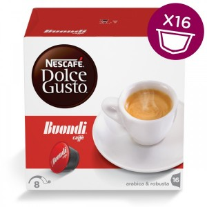 Капсулы Espresso Buondi, 16 капсул Dolce Gusto