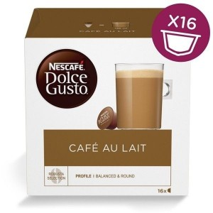 Капсулы Cafe au Lait, 16 капсул Dolce Gusto