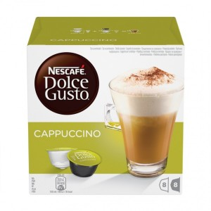 Капсулы Cappuccino, 8+8 капсул Dolce Gusto