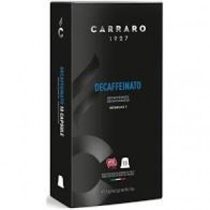 Кофе Carraro Decaffeinato, 120 капсул Nespresso