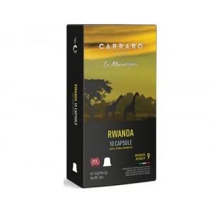 Кофе Carraro Rwanda, 120 капсул Nespresso