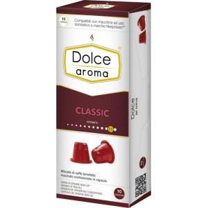 Кофе в капсулах Dolce Aroma Classic, 10 капсул Nespresso