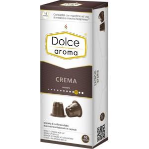 Кофе в капсулах Dolce Aroma Crema, 10 капсул Nespresso