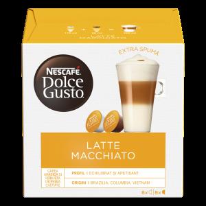 Капсулы Latte Macchiato, 8+8 капсул Dolce Gusto