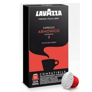 Кофе в капсулах Lavazza Espresso Armonico, 10 капсул Nespresso
