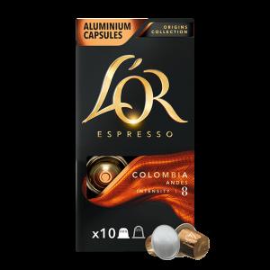 Кофе в капсулах L'OR Colombia Andes - 10 капсул