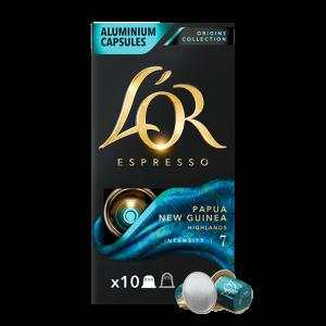 Кофе в капсулах L'OR Papua New Guinea - 10 капсул