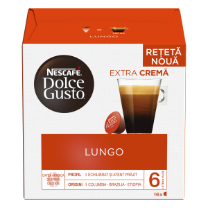 Капсулы Lungo, 16 капсул Dolce Gusto