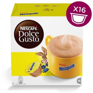 Капсулы Nesquik, 8+8 капсул Dolce Gusto
