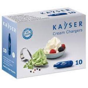 Баллончики Kayser N2O для крема, 10шт.