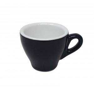 Черная чашка для кофе 80мл Genova