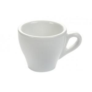 Белая чашка для кофе 80мл Genova