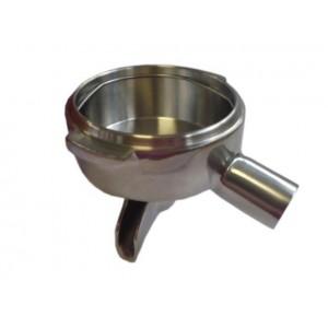 Чаша с одинарным носиком из нержавеющей стали M12 3/8 15 °