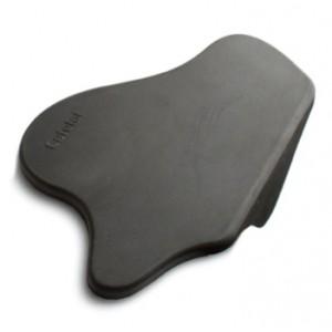Угловой черный коврик для питчера, молочника