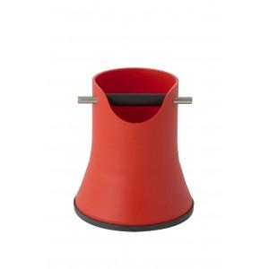 Нок бокс для кофейного жмыха, высота 175мм, красный
