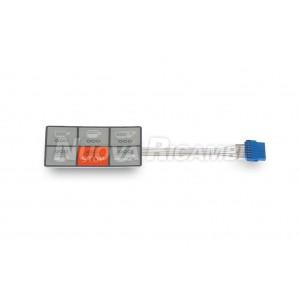 Сенсорная панель 6 кнопок / 73x44 мм